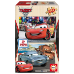 2 Puzzles Cars 2
